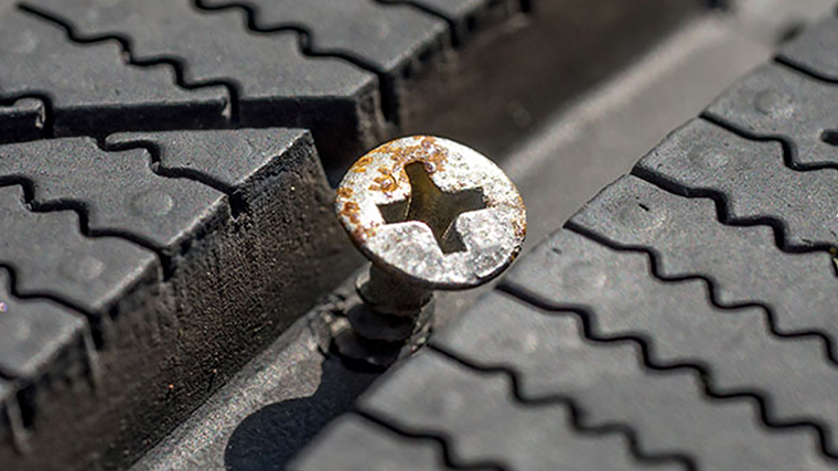 How to spot the signs of a slow puncture